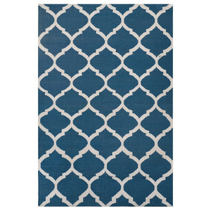 Natura Area Rug, Blue and White, 120x180 cm
