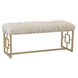 Contemporary Upholstered Benches by GwG Outlet