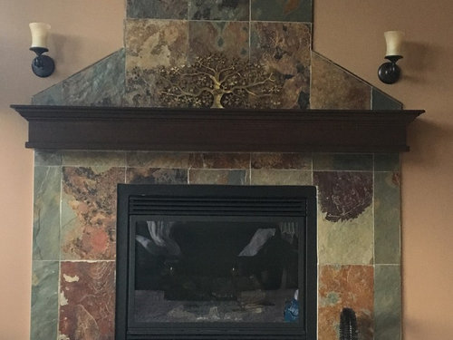 My Slate Fireplace