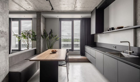 Room of the Week: A Rugged, Brutalist-Style Kitchen