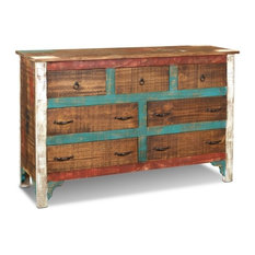 La Boca Solid Wood 7-Drawer Dresser