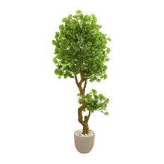 6.5 ft. Jingo Artificial Tree in Green
