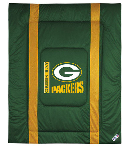 Sports Coverage   NFL Green Bay Packers Comforter Sidelines Football  Bedding   Kids Bedding