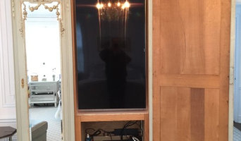 """How to conceal a 55"""" 4k in an antique armoire"""