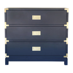 Small Carlyle Campaign Dresser, Navy
