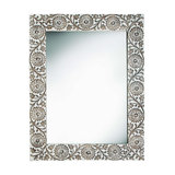 Himalayan Daisy Carved Mirror