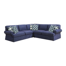 Emerald Home Mt Retreat 3 Piece Sectional Sofas