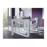 Eos (white) dining table