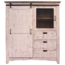 Farmhouse Armoires And Wardrobes by Crafters and Weavers