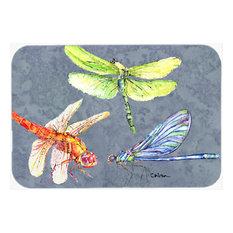Dragonfly Times Three Kitchen or Bath Mat 24x36