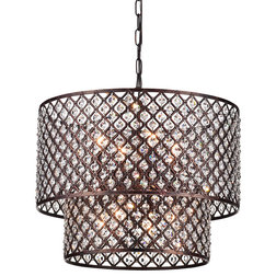 Vintage Contemporary Chandeliers by Edvivi Lighting