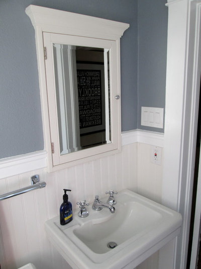 Makeover Magic Period Style For An All New 1920s Bathroom
