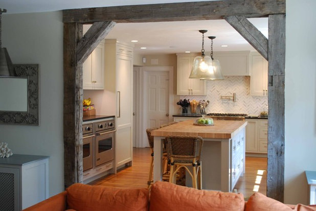 Rustic Kitchen Traditional Kitchen. What to Know Before You Tear Down That Wall