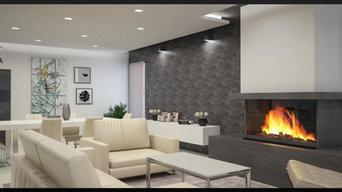 Progettazione residenziale:render