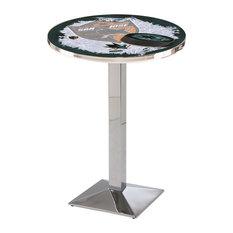 San Jose Sharks Pub Table 36-inchx42-inch by Holland Bar Stool Company