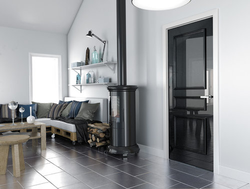 We Love A Painted Internal Door Which Do You Prefer High Gloss For That Black Piano Stylish Finish Or Scandinavian Style White Matte