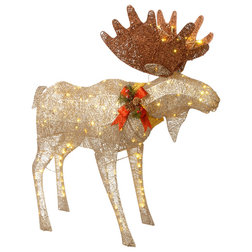 Contemporary Holiday Accents And Figurines by National Tree Company