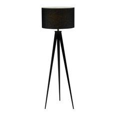 Director Floor Lamp, Black