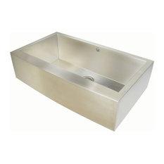 Chef Pro Zero-Radius 16 Gauge Single Bowl Apron Front Sink