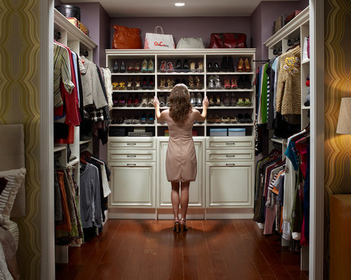 Custom Walk In Closet Design Ideas Remodel Pictures Houzz