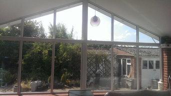 Apex blinds for Garden room