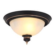 1st Avenue - Avonmore Vintage-Style Flush Mount Ceiling Light - Flush-mount Ceiling Lighting
