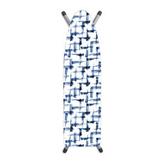 Laundry Solutions Deluxe Ironing Board Cover Brushstrokes Blue