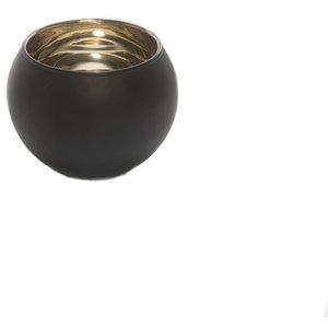 Small Emily Black Tea Light Candleholder