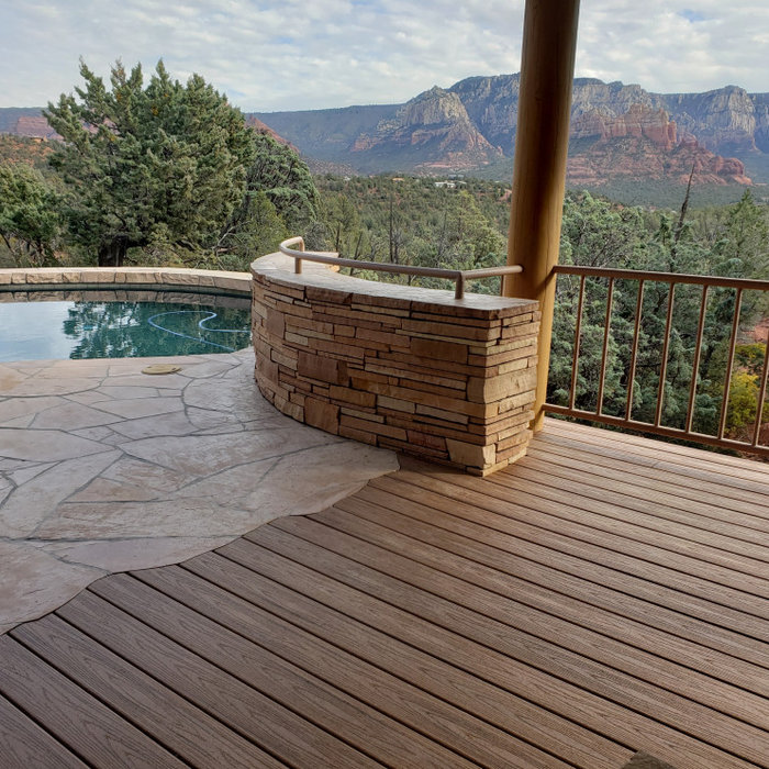 Composite decks - for the new At Home Lifestyle