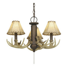 Vaxcel LK33053WP Lodge 3-Light Light Kit Weathered Patina