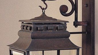 French Provincial Lantern - Wall Lantern