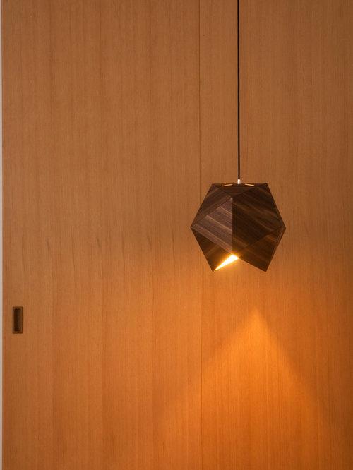 Icco lampe i valnød - Pendler