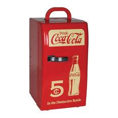 Koolatron - Coca-Cola Retro Fridge - Refrigerators