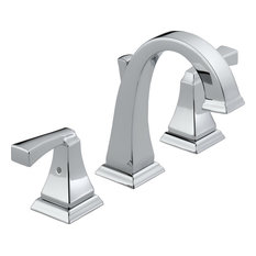 Delta Dryden 2-Handle Widespread Lavatory Faucet, Polished Chrome