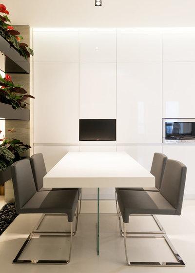 Современный Столовая by Архитектурное бюро SL*project