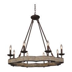 terracotta designs weston 8light chandelier chandeliers