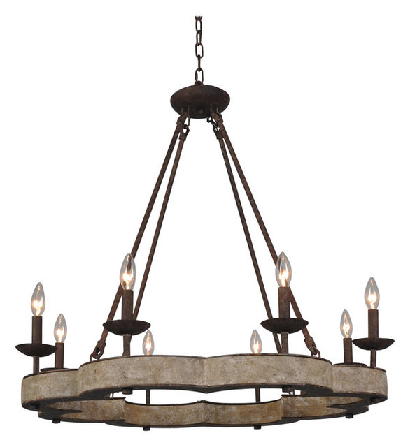 Old World Dining Room Chandeliers: Juneau Chandelier