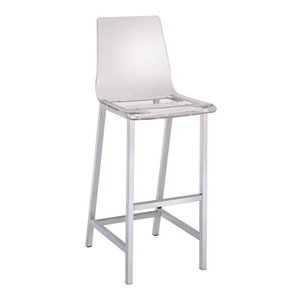Gabby King Acrylic Counter Stool Contemporary Bar