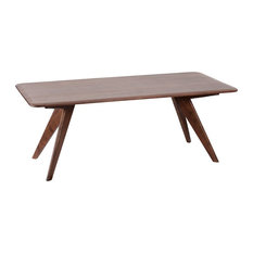 Dalston Dining Table, Light Mahogany