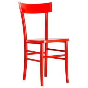 Brera Dining Chair, Peach Red