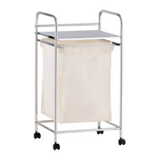 Air Laundry Basket on Wheels