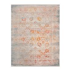 "Studio Seven Vintage Persian Rug, Gray/Multi, 9'x11'7"""