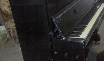 Было черное-черное пианино...