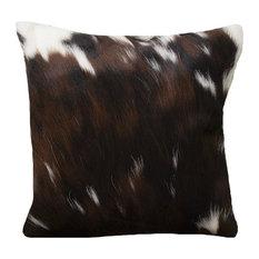 Tri-Colored Cowhide Pillow Case