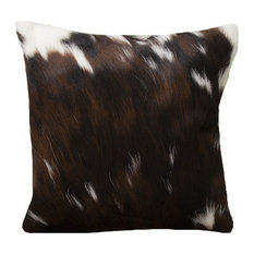 Rodeo Cowhide Rugs - Tri-Colored Cowhide Pillow Case - Decorative Pillows