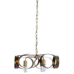 Contemporary Chandeliers by HedgeApple