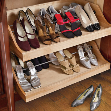 Pullout Interior Shoe Drawer