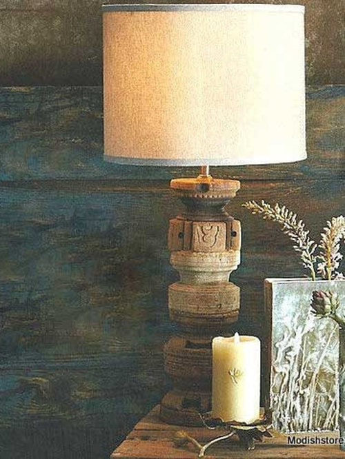 Roost Seed Dispenser Lamp   Table Lamps