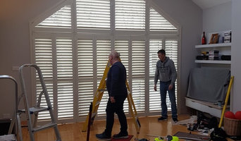 Triangle Shaped Solid Wood Shutter Dublin Lucan