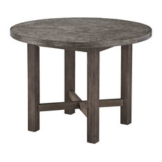 1st Avenue   Concrete Chic Dining Table   Outdoor Dining Tables